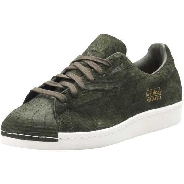 SUPERSTAR 80s CLEAN MENS - OLIVE/WHITE
