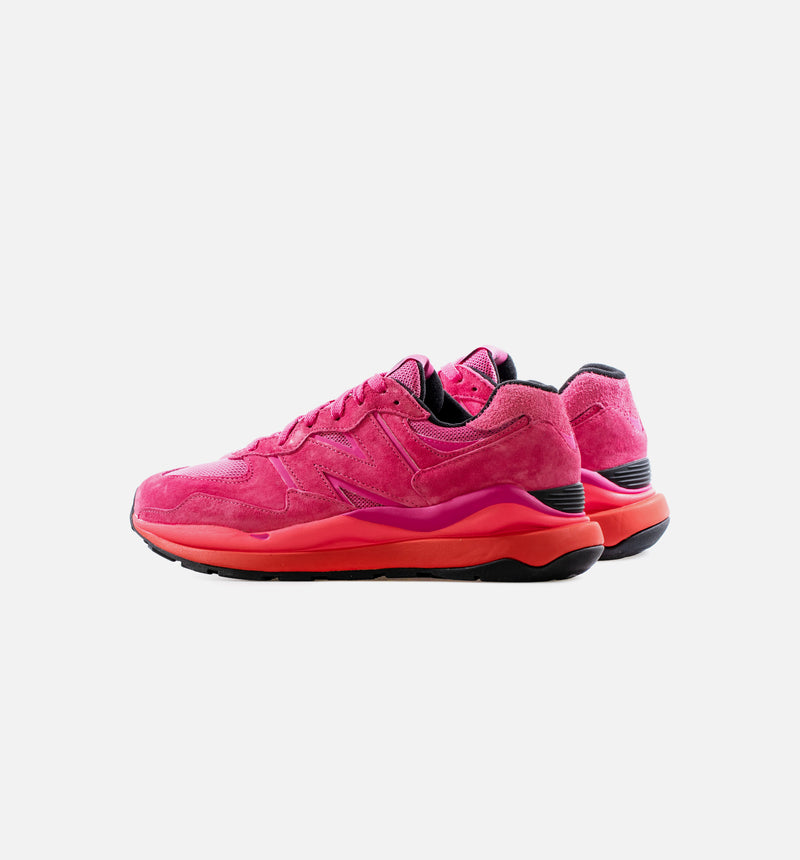 57/40 VALENTINES MENS LIFESTYLE SHOE - PINK/BLACK