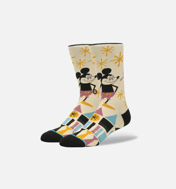 STANCE YUSUKE HANAI MICKEY SOCKS MEN'S - BLACK/MULTI