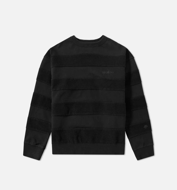 ADIDAS X ALEXANDER WANG CAPSULE COLLECTION CREW MEN'S - BLACK