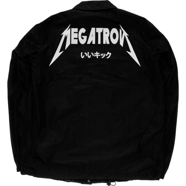 NICE KICKS X TRANSFORMERS MEGATRON COACHES JACKET MEN'S - BLACK