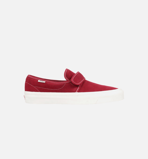 ANAHEIM FACTORY SLIP ON 47 V DX MENS SHOE - OG BRICK/WHITE