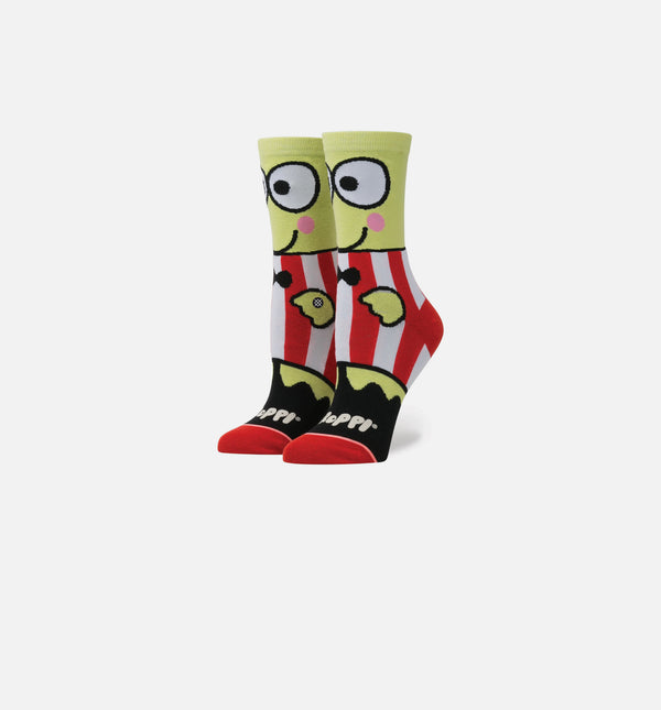 STANCE X SANRIO KEROPPI SOCKS WOMEN'S - GREEN/RED/BLACK/WHITE