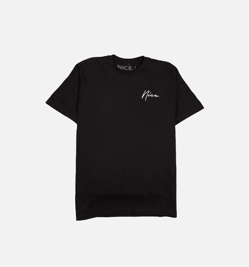 SOCIETY MENS T-SHIRT - BLACK/BLACK