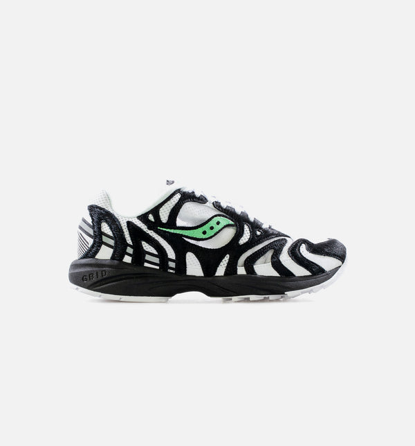 GRID AZURA 2000 ZEBRA MENS LIFESTYLE SHOE - BLACK/WHITE