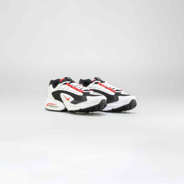 AIR MAX TRIAX MENS LIFESTYLE SHOE - WHITE/BLACK-RED