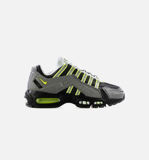 NDSTRKT AIR MAX 95 MENS LIFESTYLE SHOE - BLACK/NEON YELLOW/ GREY