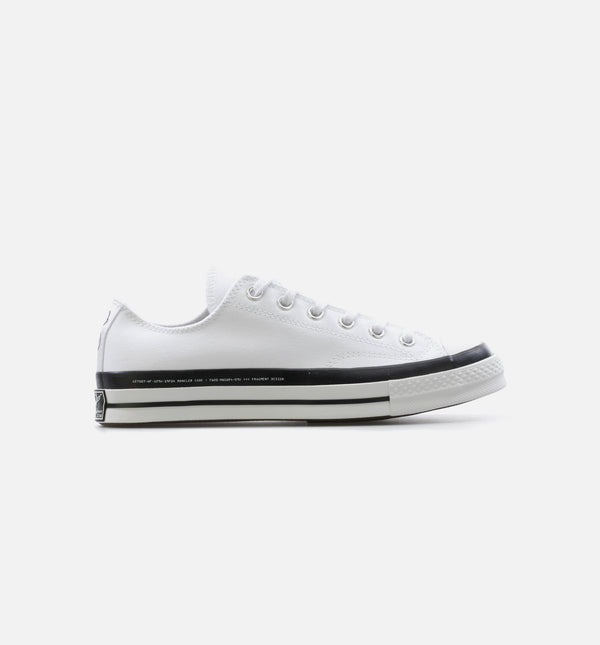 CHUCK TAYLOR 70 X 7 MONCLER FRAGMENT LOW MENS LIFESTYLE SHOE - WHITE/BLACK