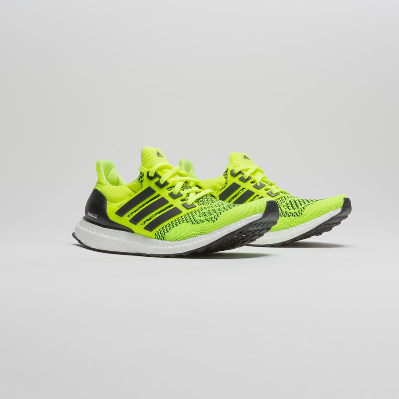 ULTRABOOST 1.0 MENS RUNNING SHOE - YELLOW/WHITE/GREY
