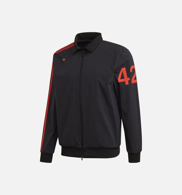 424 MENS TRACK TOP - BLACK