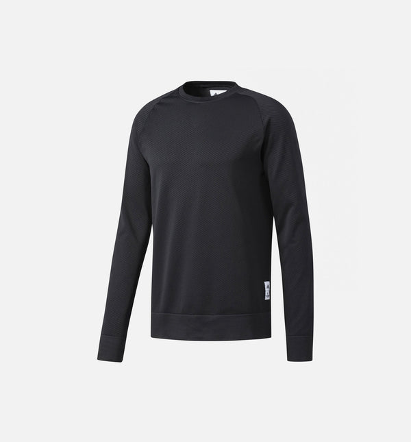 ADIDAS ATHLETICS X REIGNING CHAMP SEAMLESS CREW SWEATSHIRT MEN'S - BLACK