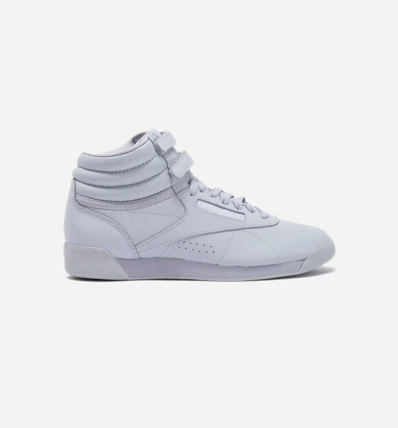 FREESTYLE TENNIS HI WOMENS SHOES - GREY/GREY