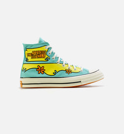 CHUCK TAYLOR 70 HI MYSTERY MACHINE MENS LIFESTYLE SHOE - BLUE/GREEN/ORANGE/WHITE