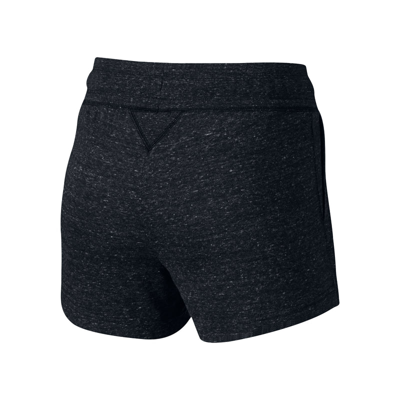 NIKE GYM VINTAGE SHORTS WOMEN'S - BLACK/SAIL
