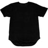 NICE KICKS CURVED HEM TEE MEN'S - BLACK