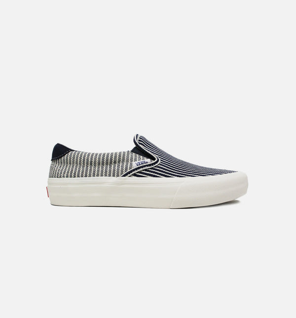 VLT LX SLIP ON MENS SKATEBOARDING SHOE - BLUE