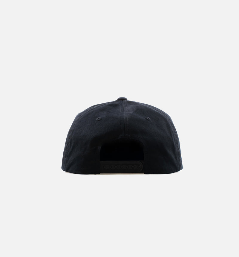 CTHDRL GRACE UNSTRCTRD HAT - BLACK/WHITE