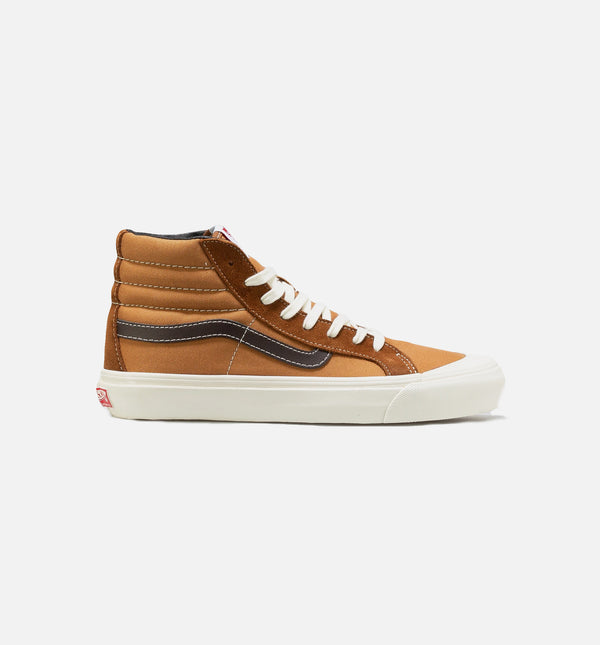 VAULT OG STYLE 138 LX MENS SKATEBOARDING SHOE - BROWN/BONE