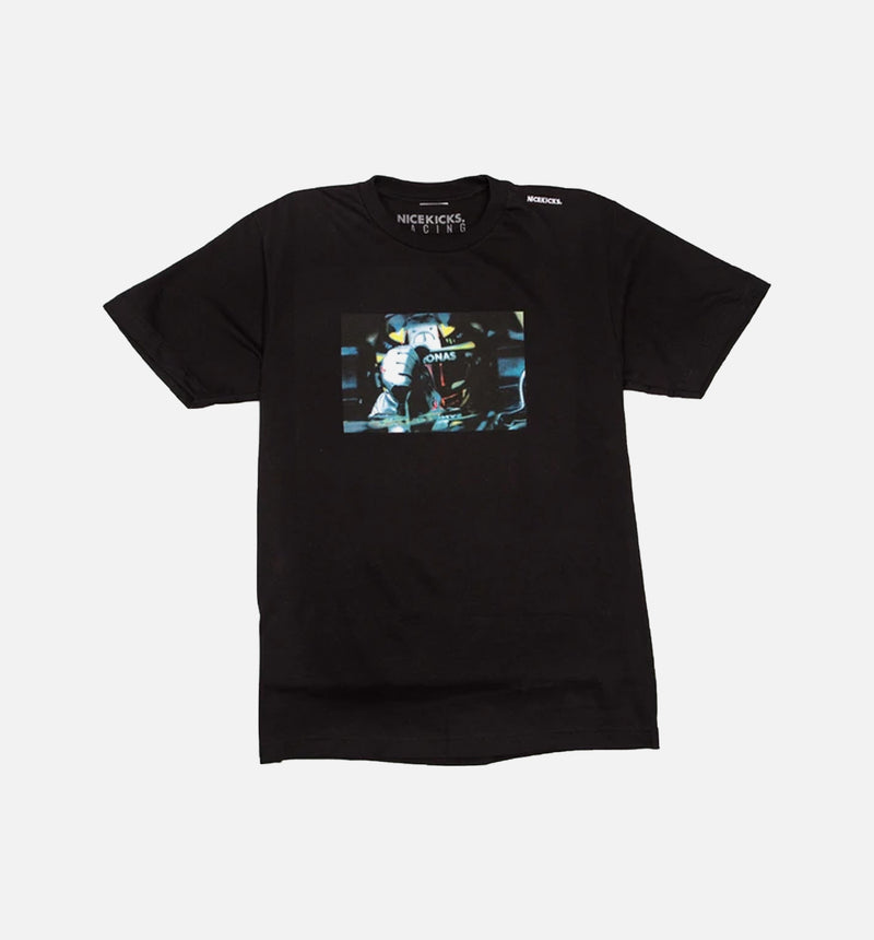 NICE KICKS FORMULA 1 PHOTO PRINT SHIRT - BLACK/BLACK