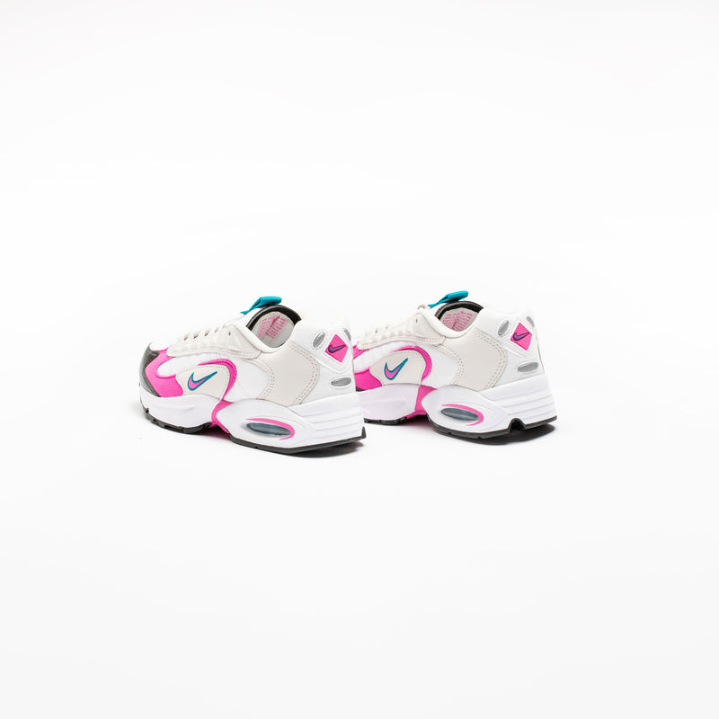 AIR MAX TRIAX 96 WOMENS LIFESTYLE SHOE - WHITE/PINK