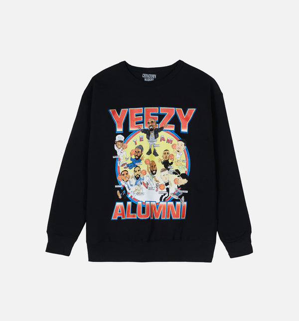 L - $59.98 MENS CREWNECK - BLACK