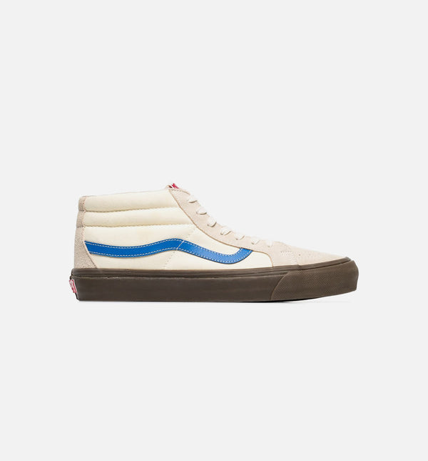 OG SK8-MID LX MENS SHOE - CREAM WHITE/OFF WHITE/BLUE
