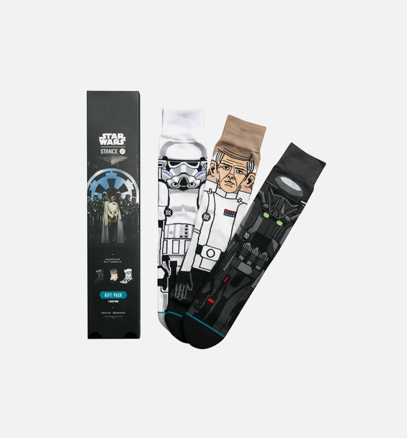 STANCE STAR WARS ROGUE ONE 3 PACK SOCKS - BLACK