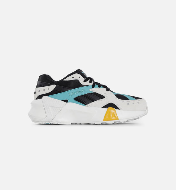 AZTREK DOUBLE X GIGI HADID WOMENS SHOES - TEAL BLUE/BLACK/WHITE