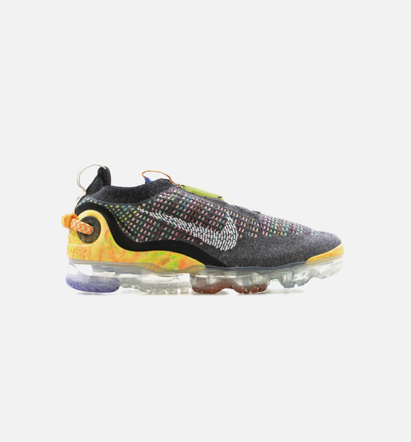 AIR MAX WARP FLYKNIT MENS LIFESTYLE SHOE - BLACK/MULTI COLOR