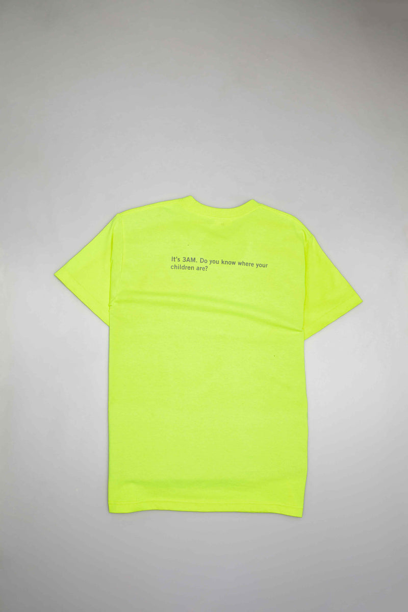 CARTER MENS T-SHIRT - YELLOW/WHITE