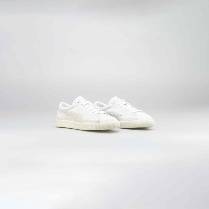 BASKET 90680 MENS LIFESTYLE SHOE - WHITE/WHITE