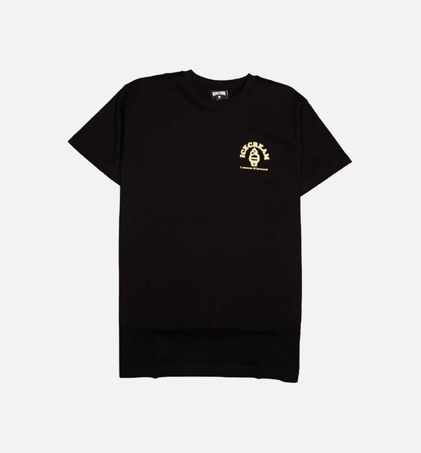 BREYER MENS SHORT SLEEVE T-SHIRT - BLACK/BLACK