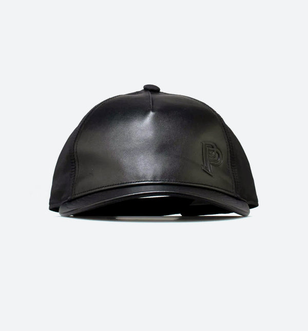 PAUL POGBA FLAT BRIM MENS HAT - BLACK/BLACK