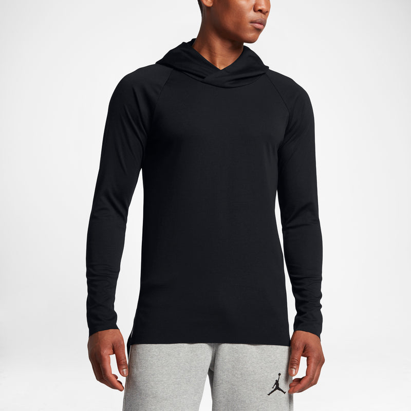 AIR JORDAN 23 LUX RAGLAN MEN'S HOODIE - BLACK/BLACK