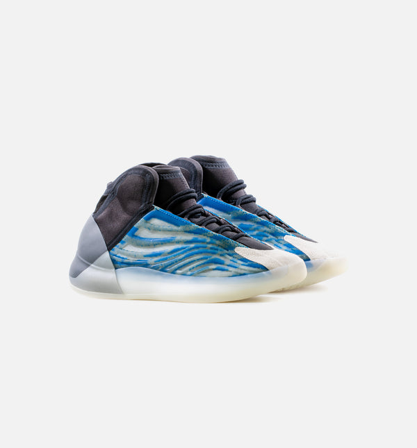 YEEZY QUANTUM FROZEN BLUE MENS LIFESTYLE SHOE - BLUE/BLACK