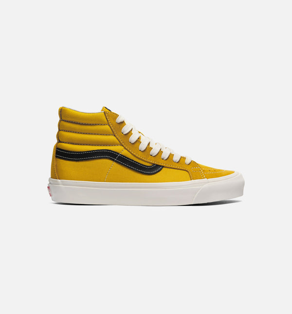 VAULT OG SK8-HI LX MENS LIFESTYLE SHOE - GOLD/BLACK
