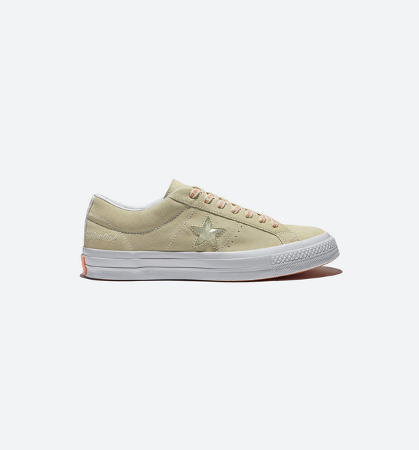 CONVERSE X FOOTPATROL ONE STAR SUEDE MEN'S SHOE - VANILLA CUSTARD/WHITE
