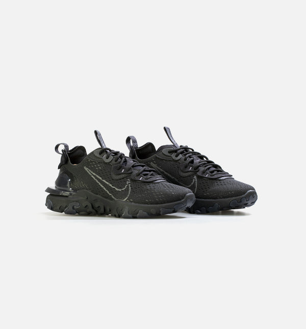NIKE REACT VISION MENS LIFESTYLE SHOE - BLACK/BLACK
