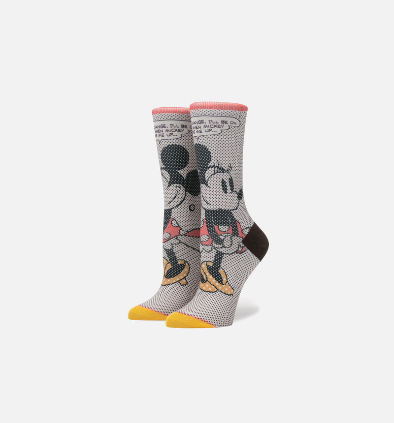STANCE TICK TOCK MINNIE SOCKS GIRL'S - RED/BLACK/YELLOW/WHITE