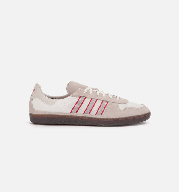 HULTON SPZL MENS SHOES - CLEAR BROWN/CLEAR GRANITE/SCARLET