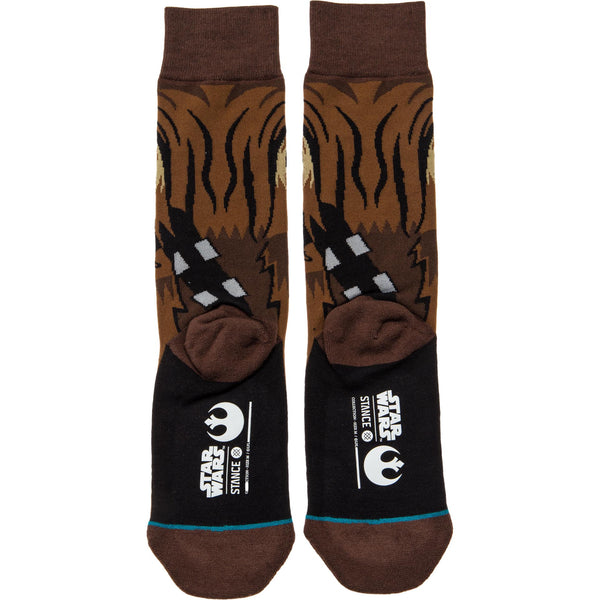 STANCE STAR WARS CHEWIE CREW SOCKS - BROWN