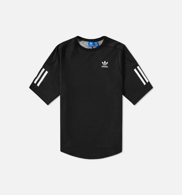 ADIDAS NOVA RELAXED JERSEY MEN'S - BLACK/WHITE