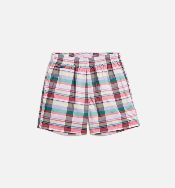 NOAH TECH MENS SHORTS - MULTI/RED/GREY/GREEN/WHITE