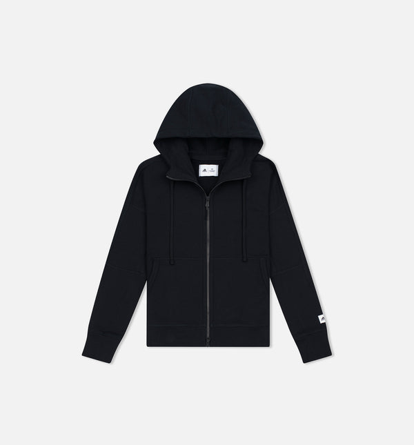 REIGNING CHAMP X ADIDAS FRENCH TERRY ZNE HOODIE WOMEN'S - BLACK