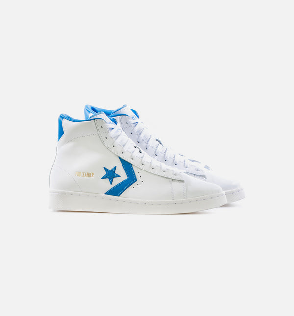 CHUCK TAYLOR ALL STAR HIGH TOP PRO LEATHER NICE DAY SKATE DECK MENS - WHITE/BLUE