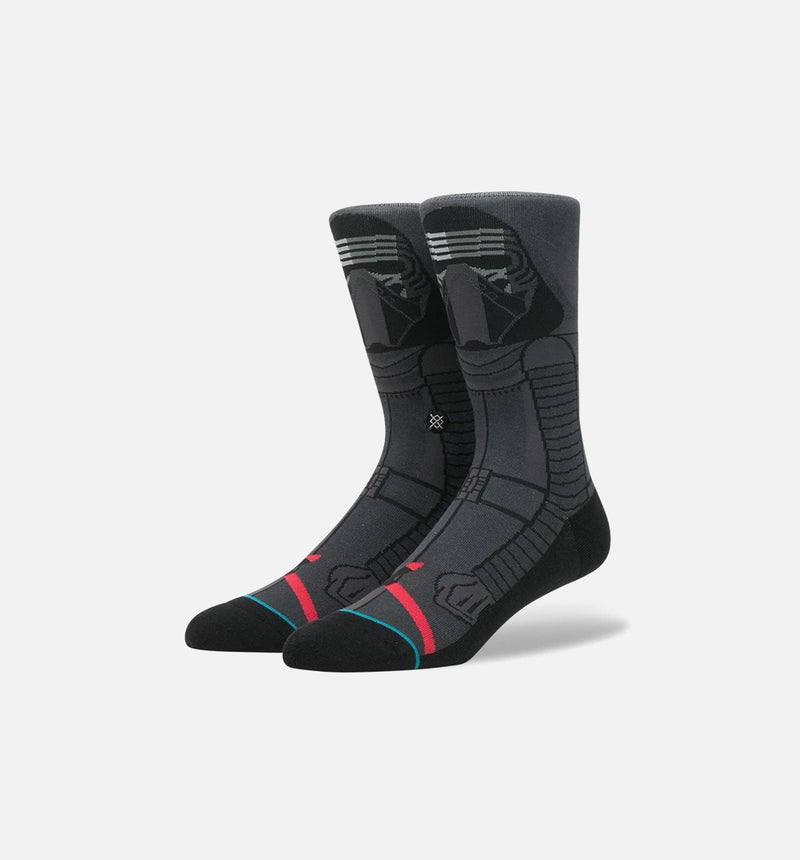 STANCE STAR WARS KYLO REN SOCKS MEN'S - DARK GREY