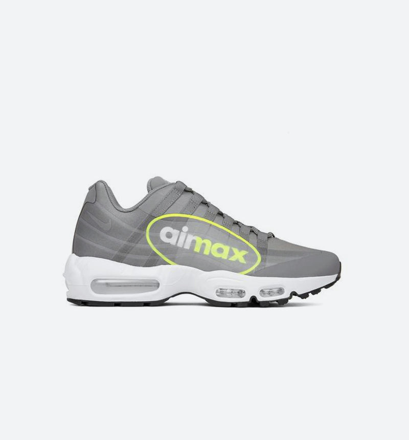 AIR MAX 95 NX GPX VOLT MENS SHOE - DUST/VOLT DARK PEWTER/WHITE