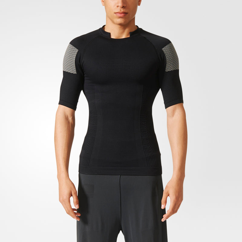 ADIDAS COMPRESSION TEE MEN'S - BLACK