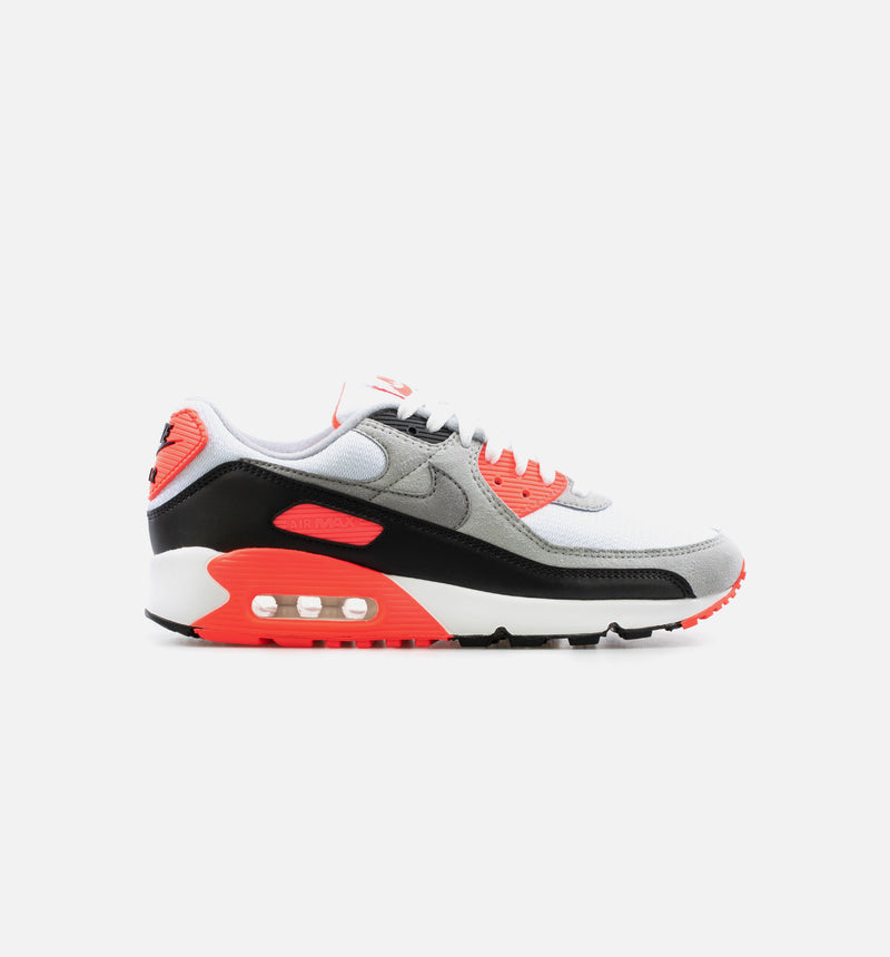 AIR MAX III MENS LIFESTYLE SHOE - WHITE/BLACK/RADIENT RED/GREY