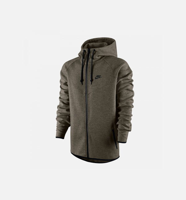 Nike Tech Fleece Windrunner - Cargo Khaki/Black/Heather/Black